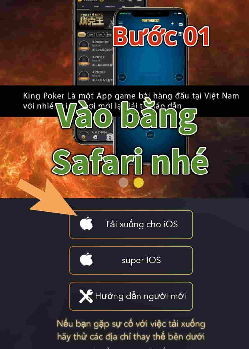 cai poker king tren iphone